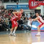7. Januar 2012 gegen Bamberg (Foto: Sperduto)