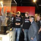10. Dezember 2012: in der FC Bayern Erlebniswelt